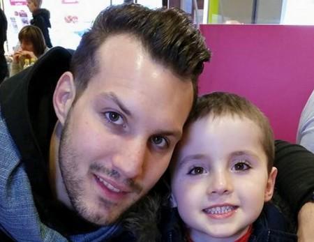 Mathieu Cornet espère revoir son fils Eliot au plus vite.