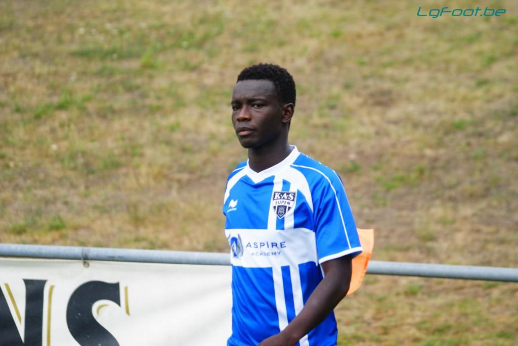 Diawandou Diagne revient à Eupen. (photo LD)