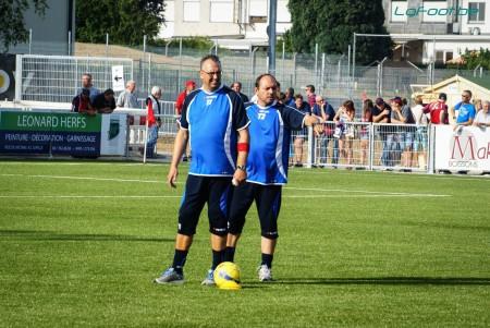 Bernard Wegria (à droite) a trouvé un nouveau club.